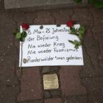 8. Mai Gedenken im Riederwald